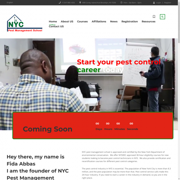Pest Control School NYC
